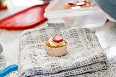 mini angel lush cupcakes
